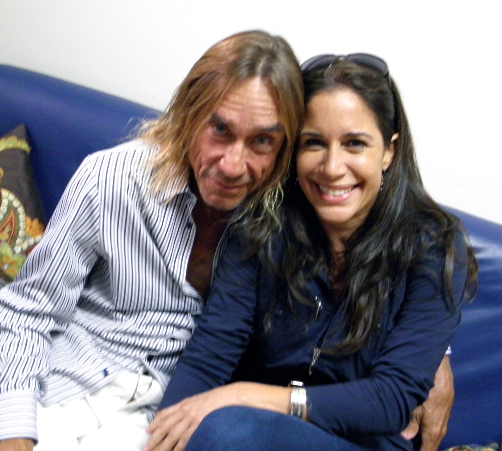 Iggy Pop recorded at Elite Music Studios
